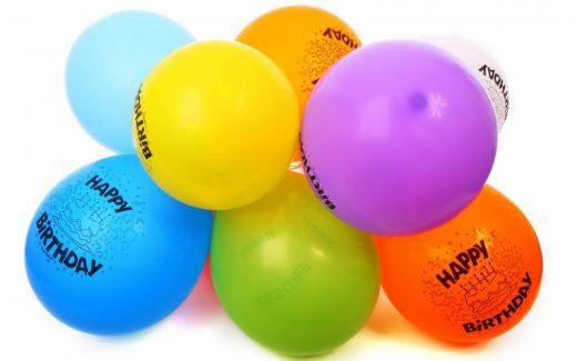 Mange slags balloner