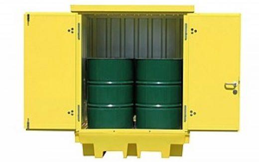 Vær på den sikre side med en miljøcontainer
